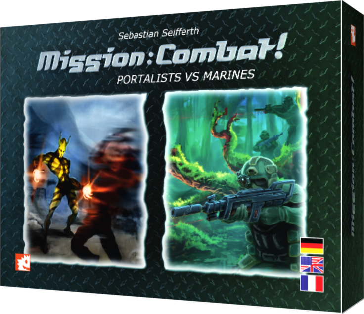 Mission: Combat! - Cover